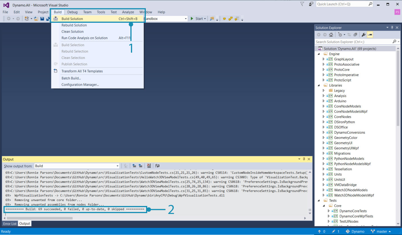 Build Dynamo from Source · GitBook